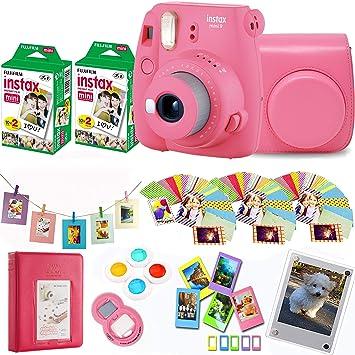 Fujifilm Instax Mini 9 Flamant Rose Appareil Photo Instantane