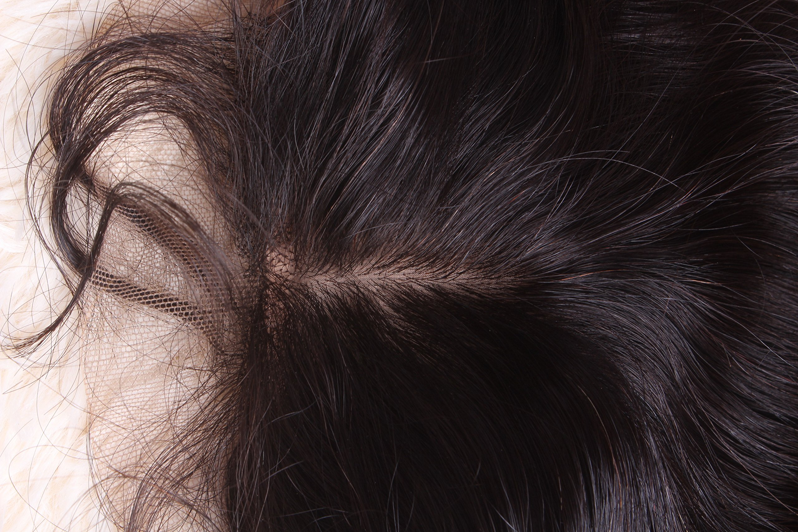 Silk Base Closure - Malaysian Straight Hair - 6a Grade - 4x4, 20 Inches, Freestyle Part by Nubian Crown Hair