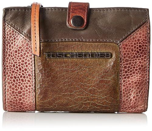 Taschendieb - Td0125g, Carteras Mujer, Grau, 2.5x10x14 cm (B x H T): Amazon.es: Zapatos y complementos