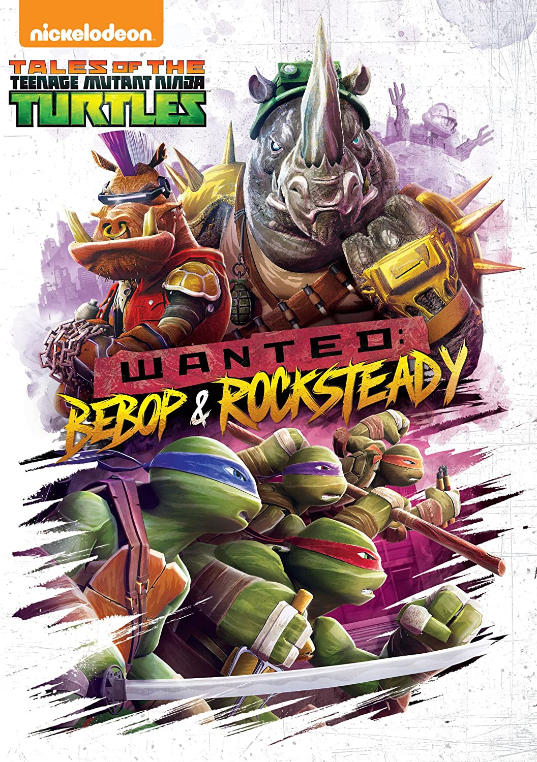 Tales of the Teenage Mutant Ninja Turtles: Wanted: Bebop & Rocksteady