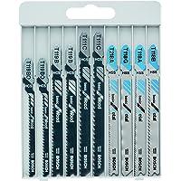 Bosch Pro 10tlg. Stichsägeblatt-Set Basic (für Metal und Wood zum Sägen in Metall und Holz)+