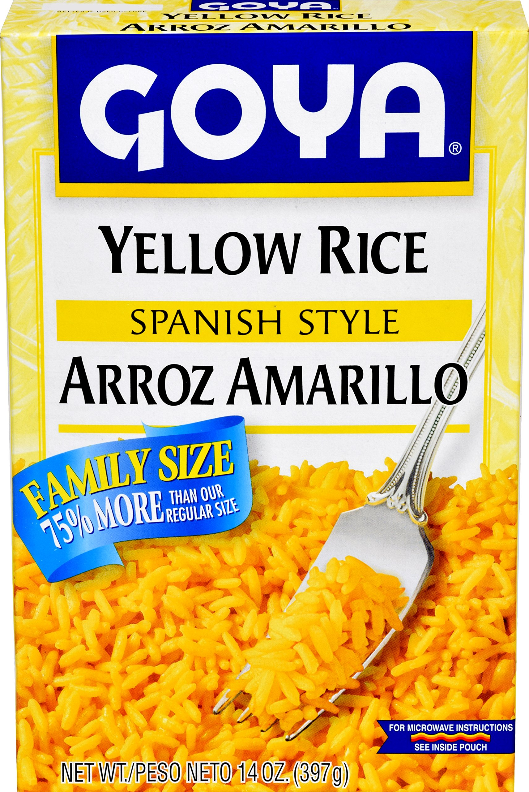 Goya Yellow Rice, 14-Ounce Units (Pack of 18) by Goya