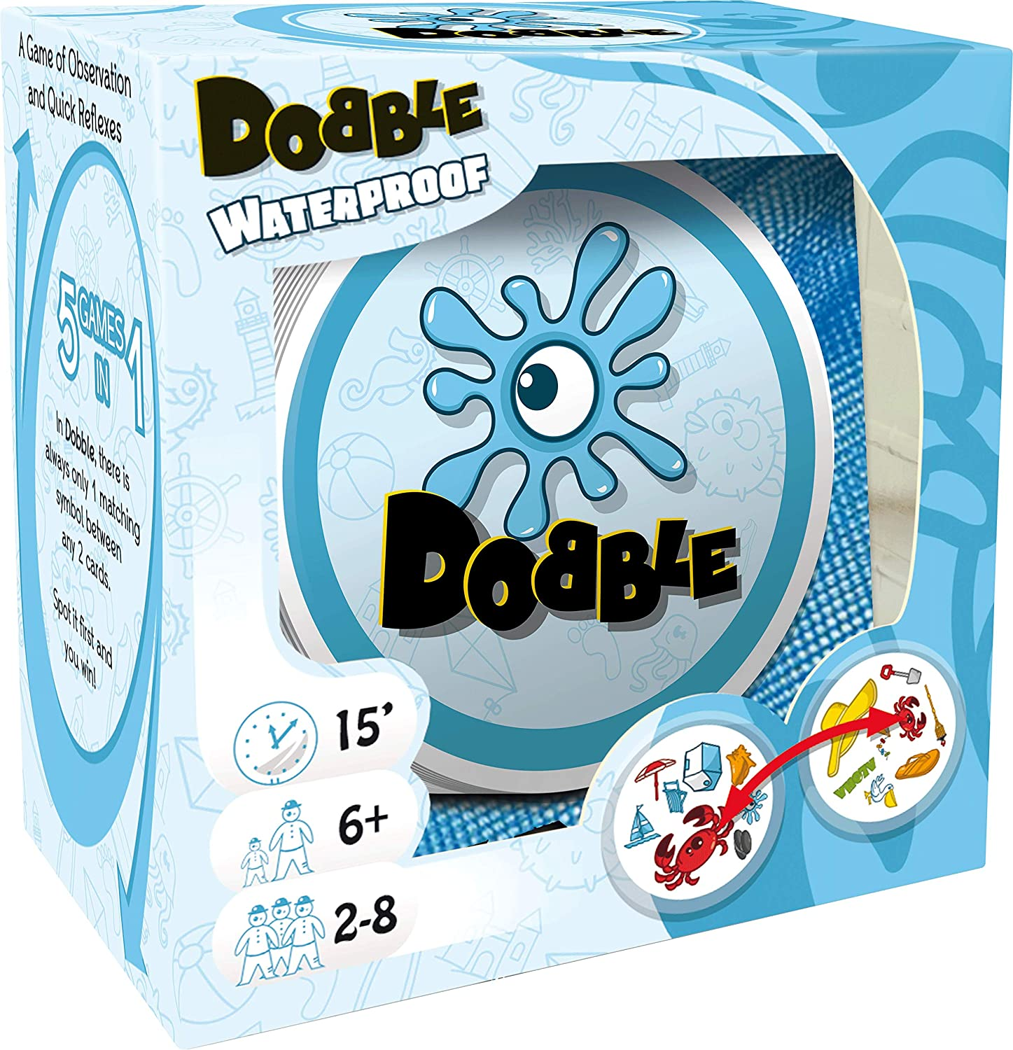 Asmodee 200960 Dobble Legespiel Top Quality