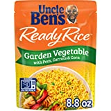 Uncle Ben's Ready Rice Garden Vegetable Pouches, Ready to Heat, 8.8 Ounce (Pack of 6)