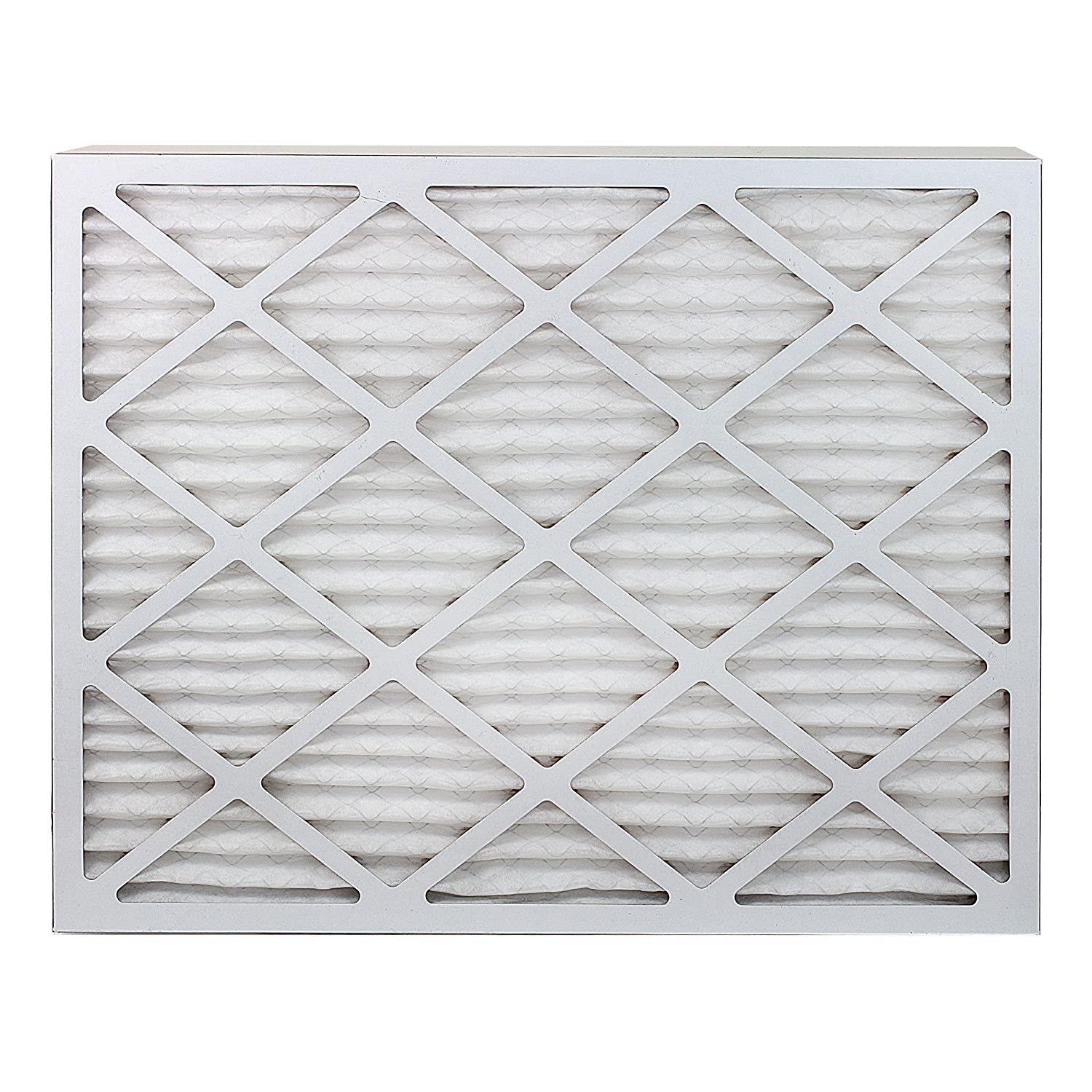 Nordic Pure 20x24x1 MERV 8 Pure Carbon Pleated Odor Reduction AC Furnace Air Filters 2 Pack