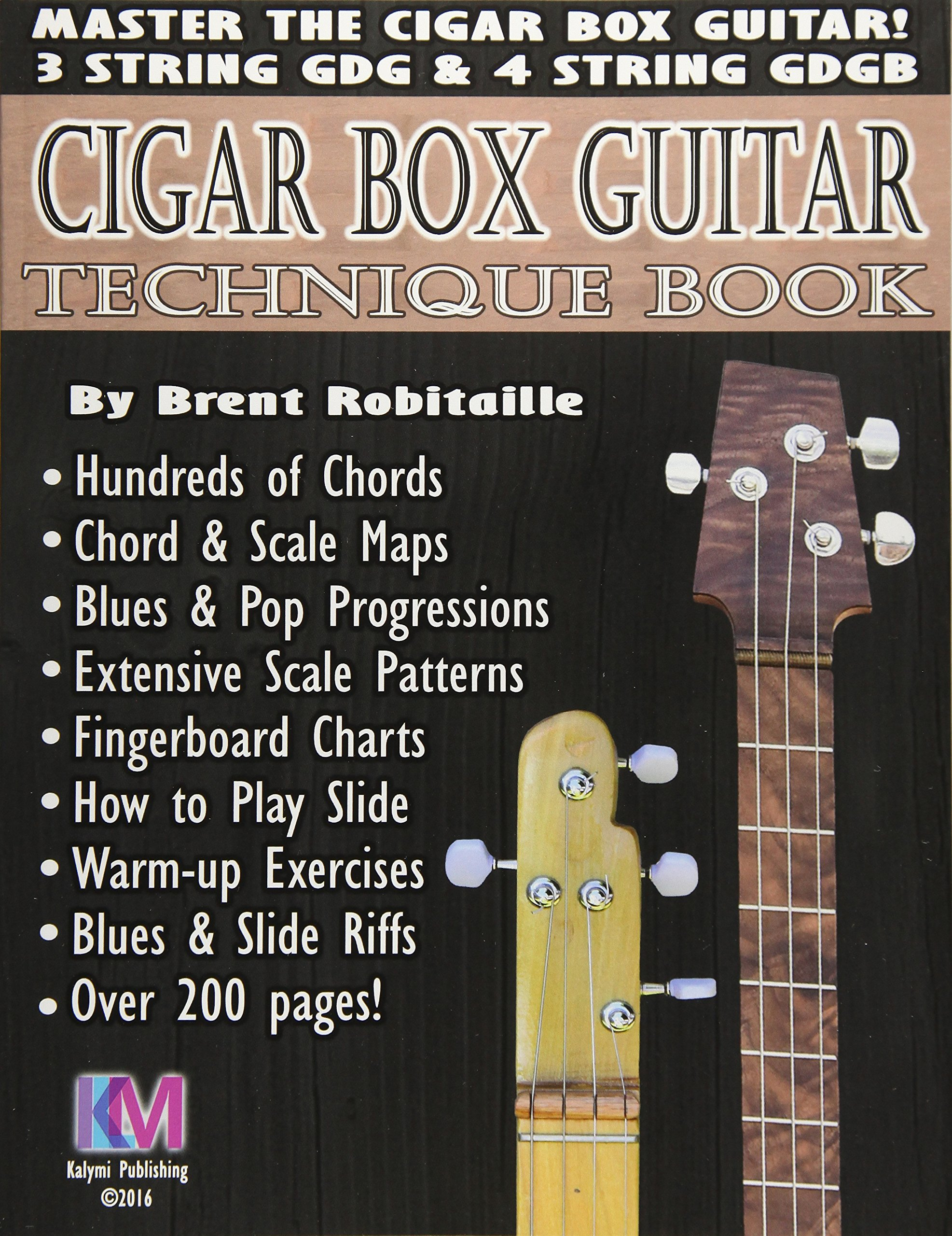 Cigar Box Guitar Technique Book Cigar Box Guitar Encyclopedia Mr
