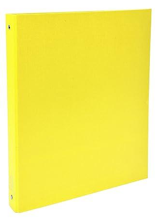 Exacompta Ringbuch - Archivador con anillas (260 x 320 mm, DIN A4, 4 anillos): Amazon.es: Oficina y papelería
