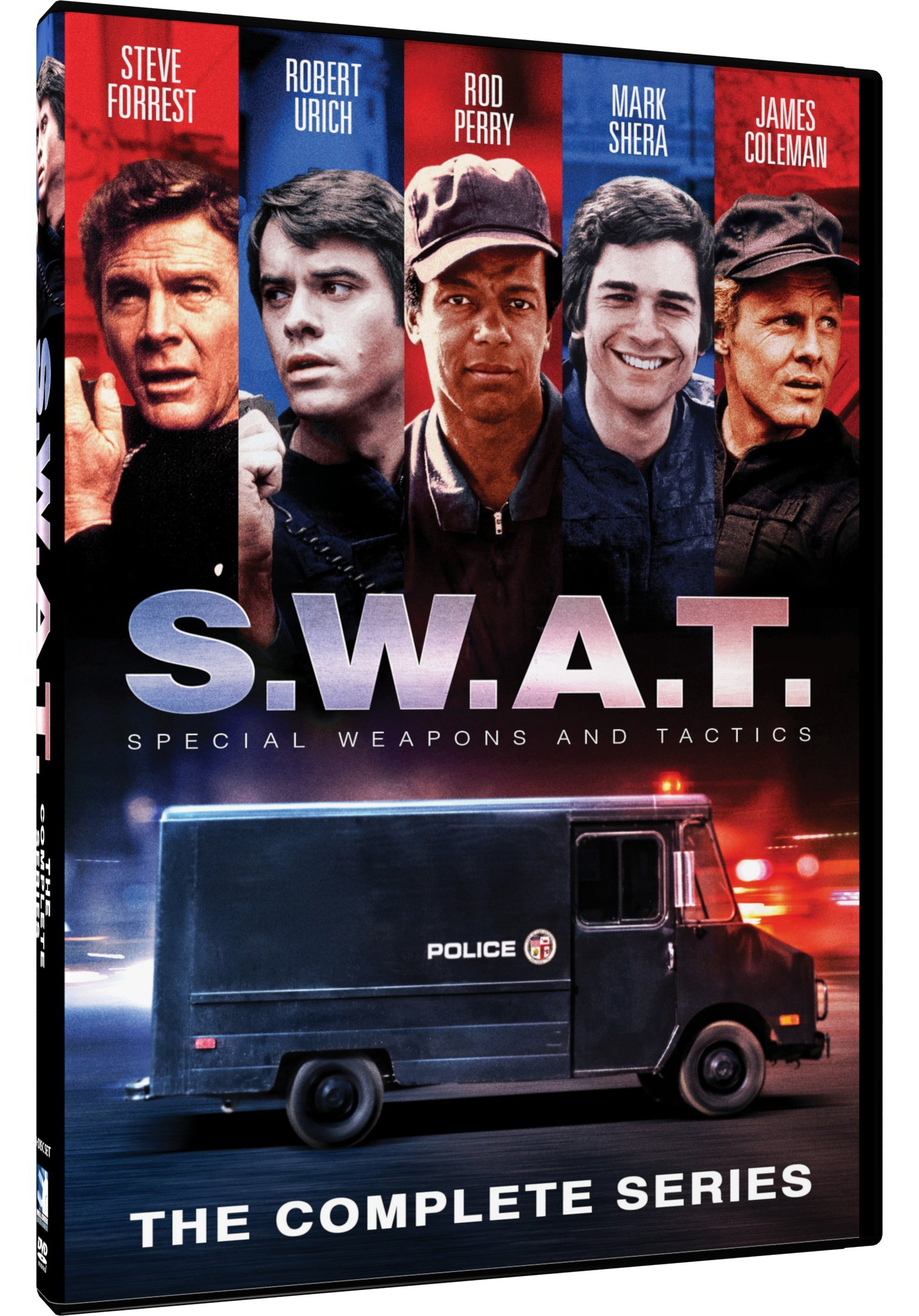DVD : S.W.A.T.: The Complete Series (DVD)