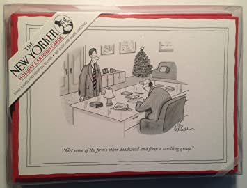 The new yorker holiday cartoon greeting cards amazon office the new yorker holiday cartoon greeting cards m4hsunfo