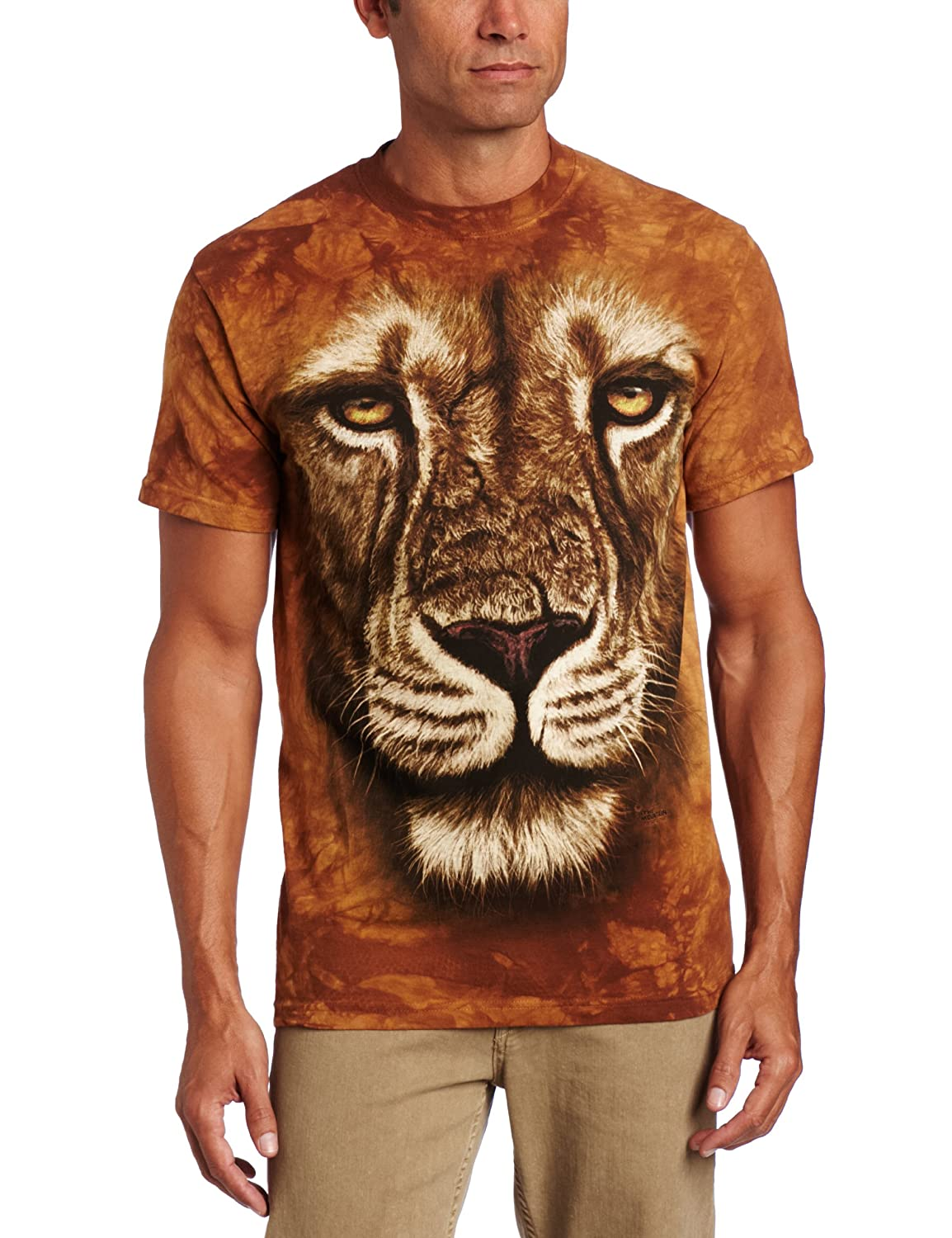 The Mountain Kids Lion Warrior T-Shirt Getting Fit MT3180-15-P