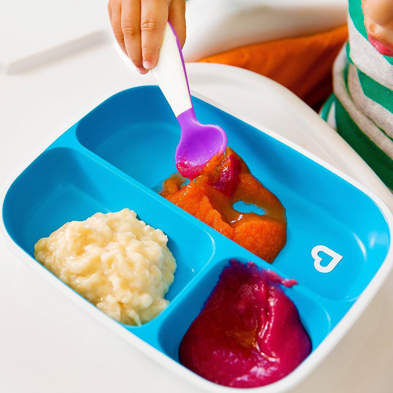Set da pranzo con piatto e ciotola Munchkin Splash 4 pezzi