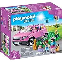 PLAYMOBIL City Life Coche Familiar con Parking, A