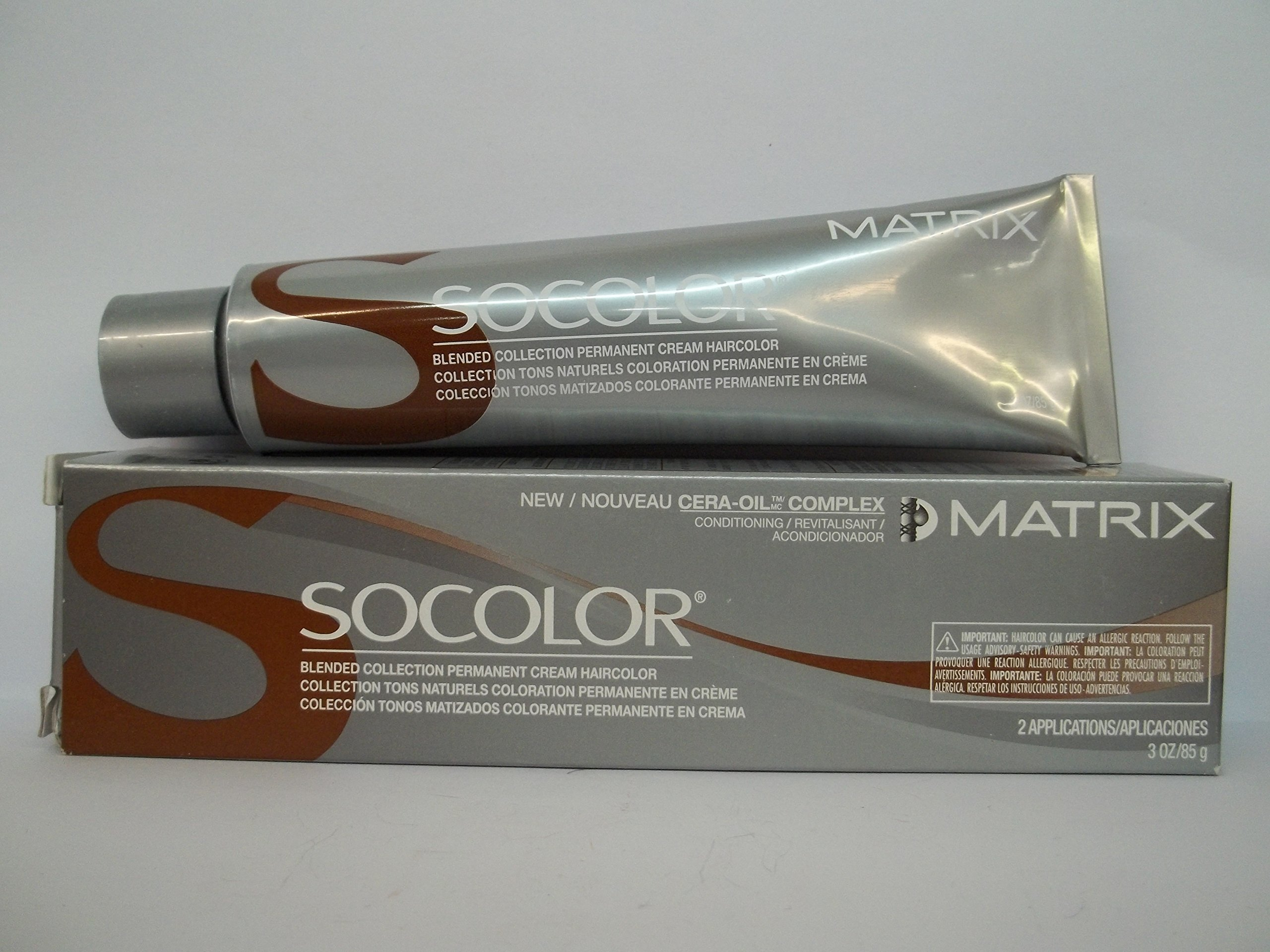 Amazon Matrix Socolor Permanent Cream Hair Color 4m Dark Brown