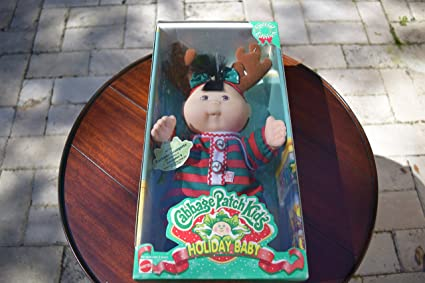 Used special edition cabbage patch kids holiday baby nib new.