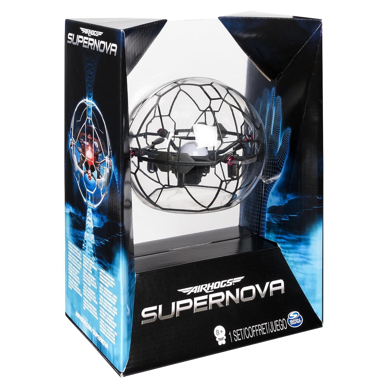 Amazon.es: Spin Master Air Hogs Supernova Cuadricóptero - Juguetes ...