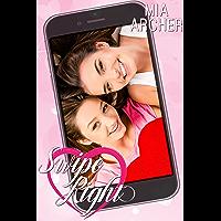 Swipe Right: A Lesbian Romance (English Edition)