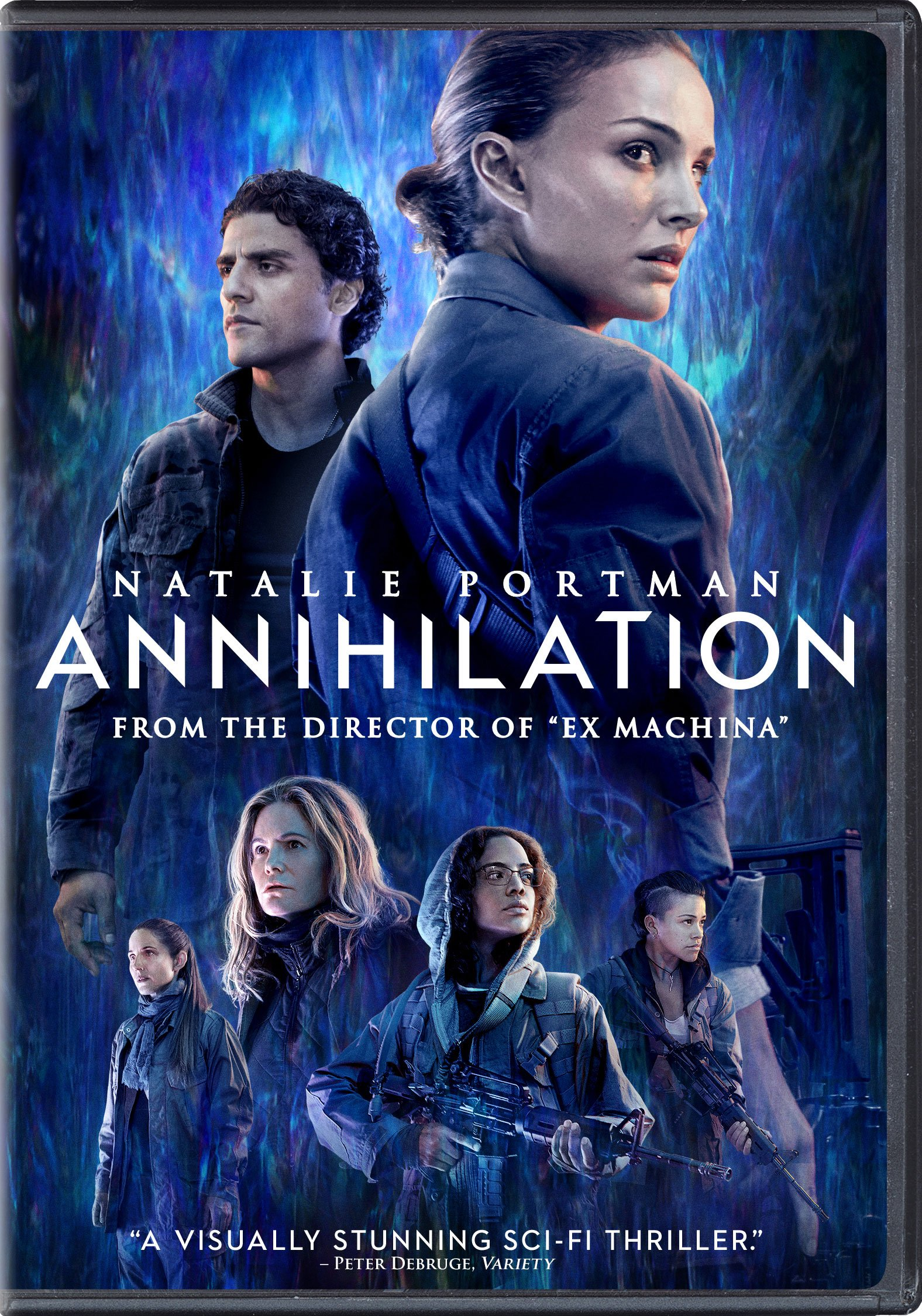 DVD : Annihilation (Dubbed, Subtitled, Dolby, AC-3, Widescreen)