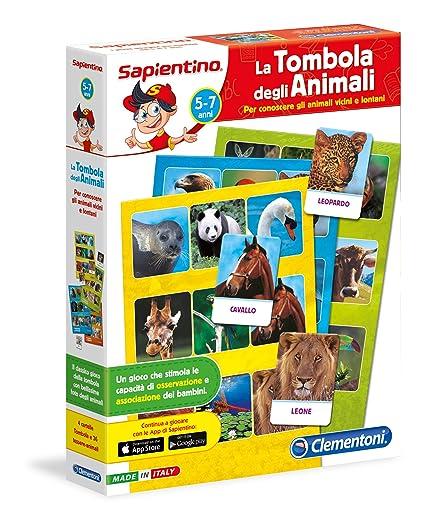 Clementoni 12690 La Tombola Degli Animali