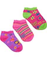 Stephen Joseph Little Girls Mix and Match Ankle Socks