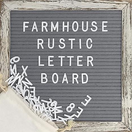 Amazon Com Felt Letter Board Set With 10x10 Inch Shabby Chic