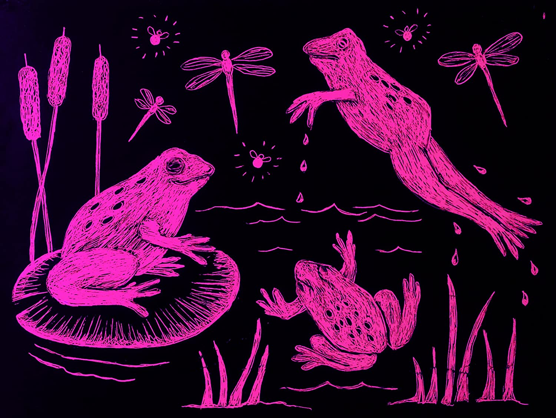 Pink 8007 Melissa /& Doug Scratch-Art Paper