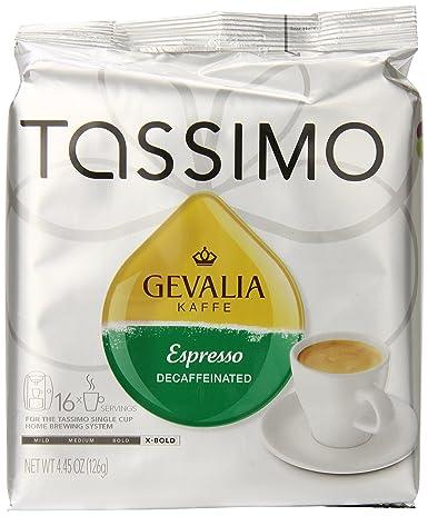 TASSIMO GEVALIA - Discos de café tostado extragruesos ...
