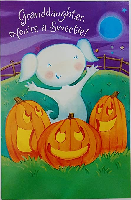 Amazon granddaughter youre a sweetie happy halloween granddaughter youre a sweetie happy halloween greeting card quotits time for m4hsunfo
