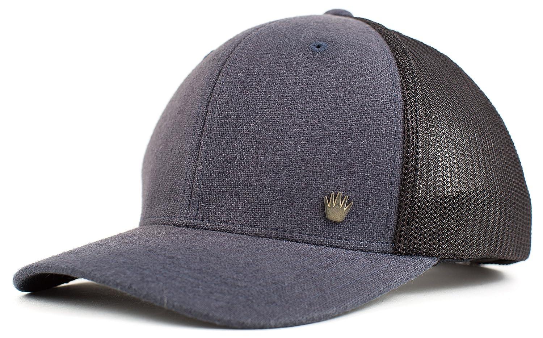 promo code 2c4aa c2bce No Bad Ideas Isiah Mesh Flexfit Hat Gry Blk (Small Medium) at Amazon Men s  Clothing store
