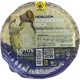 Lotus Foods Rice Bowl, Heirloom Forbidden , 7.4 Ounce (Pack of 6)