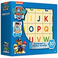 Paw Patrol Alphabet and Puzzle Blocks (30 piece)