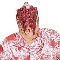 WIDMANN 01014 - Maschera Testa Recisa Uomo senza Testa, Adulto