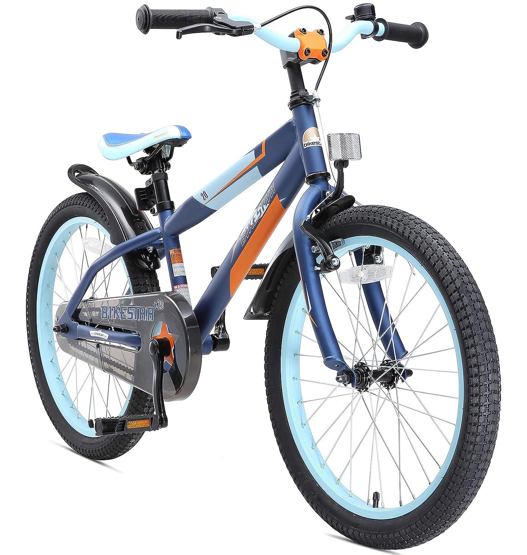 BIKESTAR Bicicleta Infantil para niños y niñas a Partir de 6 ...