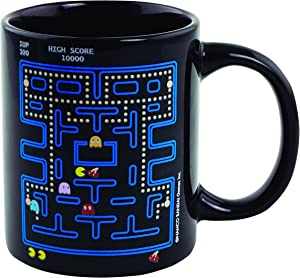 Pac Man Heat Change Ceramic Coffee Mug - Officially Licensed