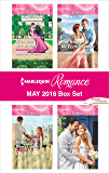 Harlequin Romance May 2016 Box Set: The Billionaire Who Saw Her Beauty\In the Boss's Castle\Rafael's Contract Bride\One Week with the French Tycoon (The Montanari Marriages)