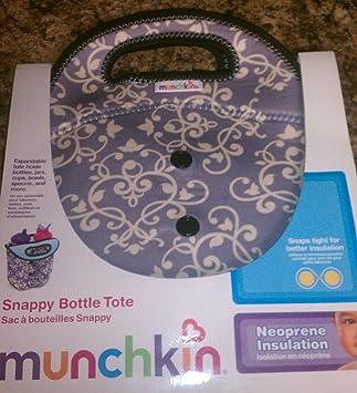 Amazon.com: Munchkin Snappy Botella bolsa: Baby