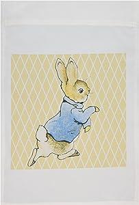 3dRose fl_79399_1 Garden Flag, 12 by 18-Inch, Peter Rabbit Vintage Art-Animals