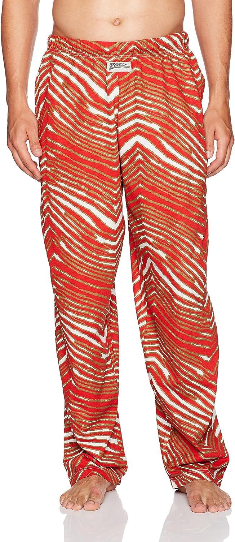 Zubaz Men's Standard Classic Zebra Printed Athletic Lounge Pants