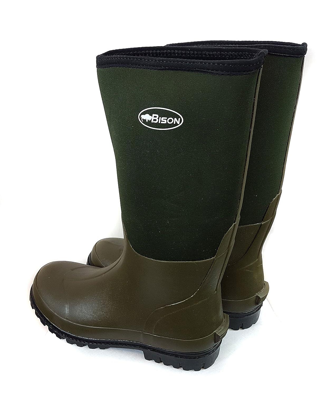Bison Wellington - Botas para el fango, con neopreno de 6 mm: Amazon.es: Deportes y aire libre