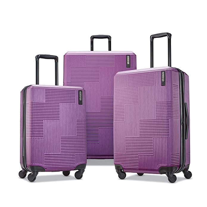American Tourister Stratum XLT 3 Piece Hardside Spinner Luggage Set