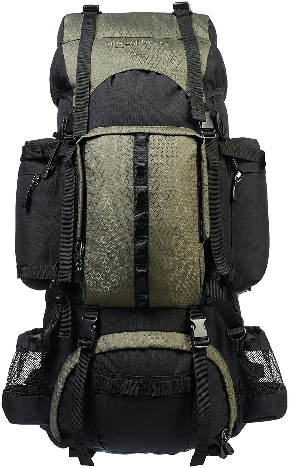 AmazonBasics Internal Frame (Hardback) Hiking Backpack with