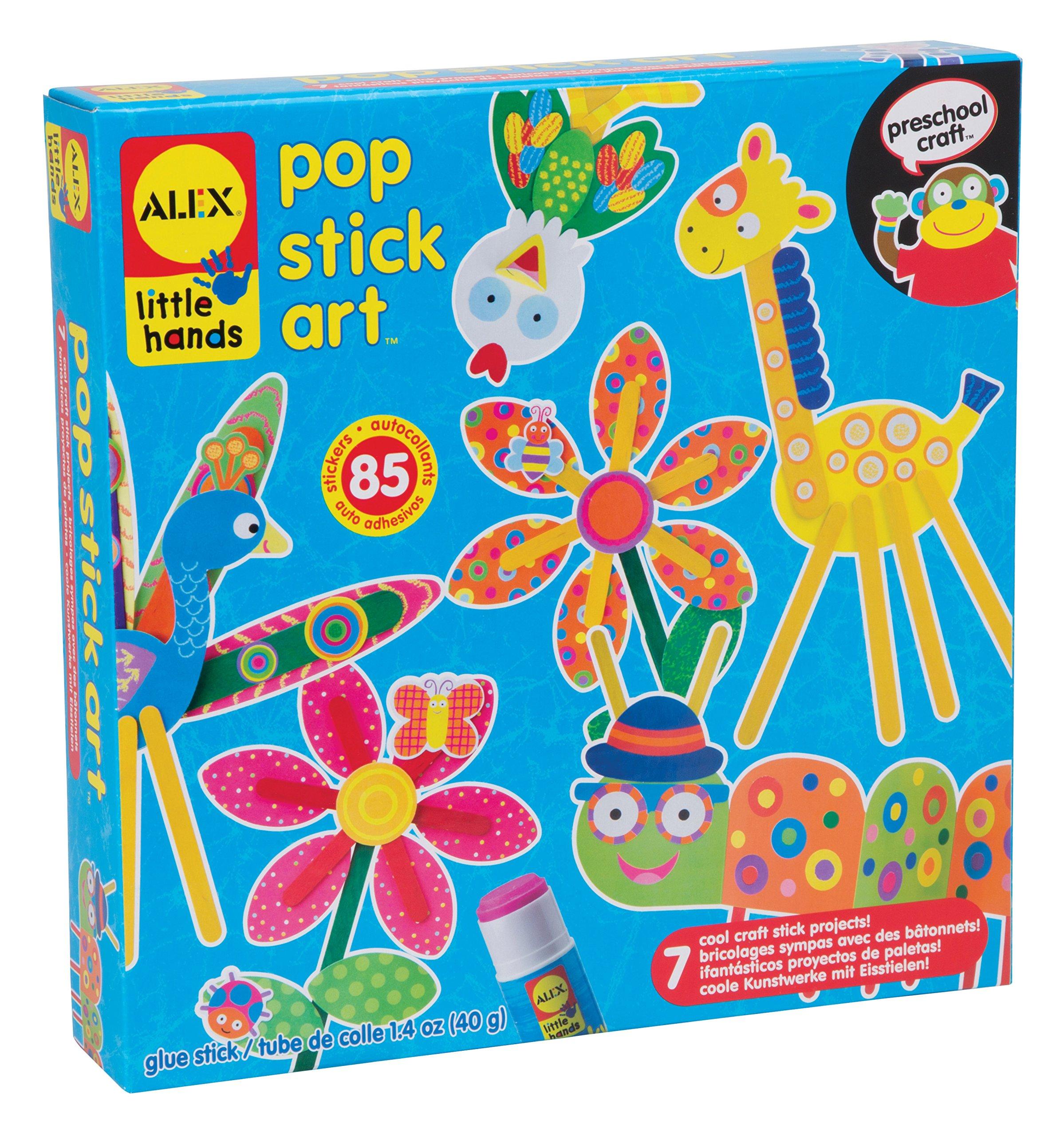 ALEX Toys Little Hands Pop Stick Art Craft Kit by ALEX Toys