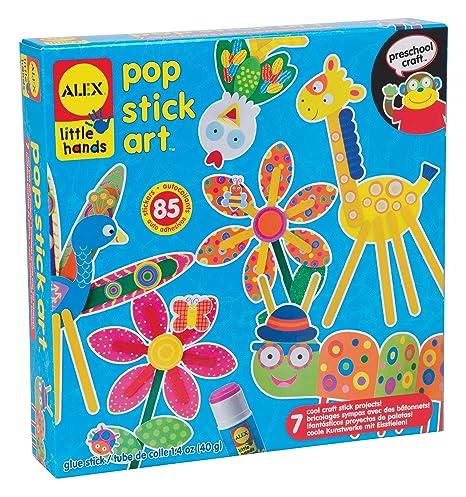 7fa36dcd6860f Alex Toys Little Hands - 1409 - Kit De Loisirs Créatifs - Bricolage Sympas  Avec Bâtonnets En Bois  Amazon.fr  Jeux et Jouets