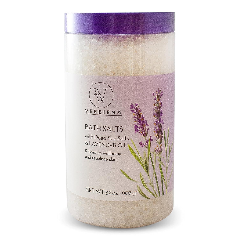 Amazon.com: Dead Sea Salt With Lavender Essential Oil Epsom Bath ...