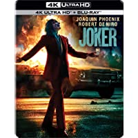Joker (2019) (Steelbook) (4K UHD & HD) (2-Disc)