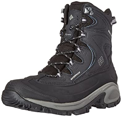 Columbia Women's Bugaboot II Snow Boot, Black/Quarry, ...