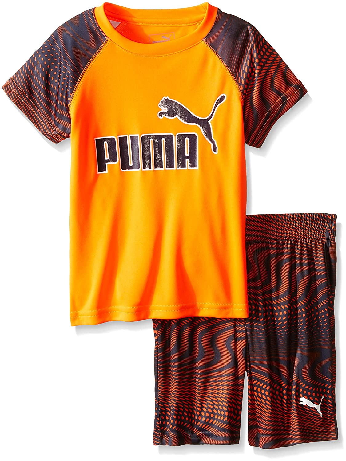 PUMA Boys Performance Two Piece Tee and Short Set