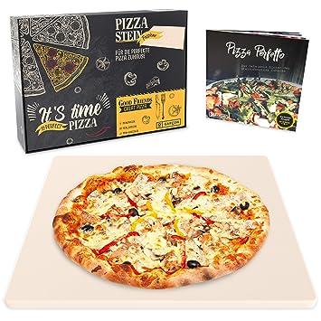 Garcon Pizzastein Für Backofen Grill Gasgrill Pizza Wie Beim