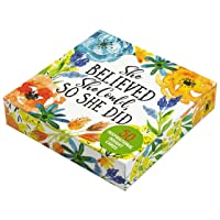 She Believed She Could, So She Did Insight Cards (Deck of 50 Empowering Inspirational...