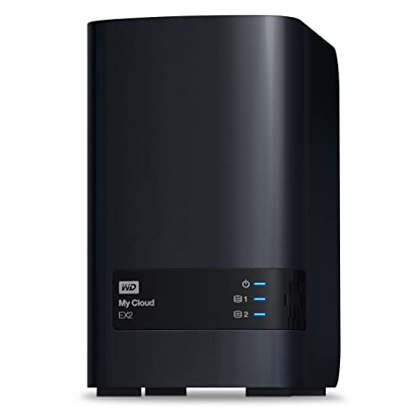 Wd My Cloud Ex2 Diskless Personal Cloud Storage Nas Wdbvkw0000nch Nesn Amazon In Computers Accessories
