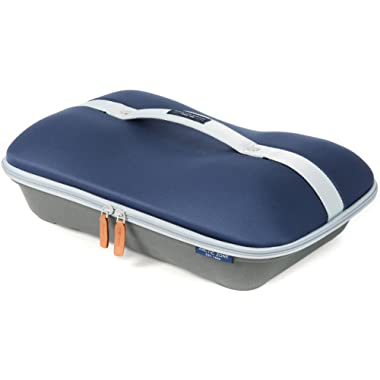 Arctic Zone 2224IL15284B Deluxe Hot/Cold Thermal Insulated Food Carrier, Navy